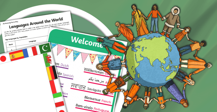در جهان، به صورت رسمی، حدود ۶۰۰۰ زبان مختلف وجود دارد.