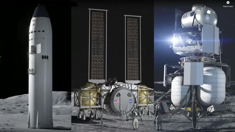طراحی مفهومی دور جدید سفر به ماه