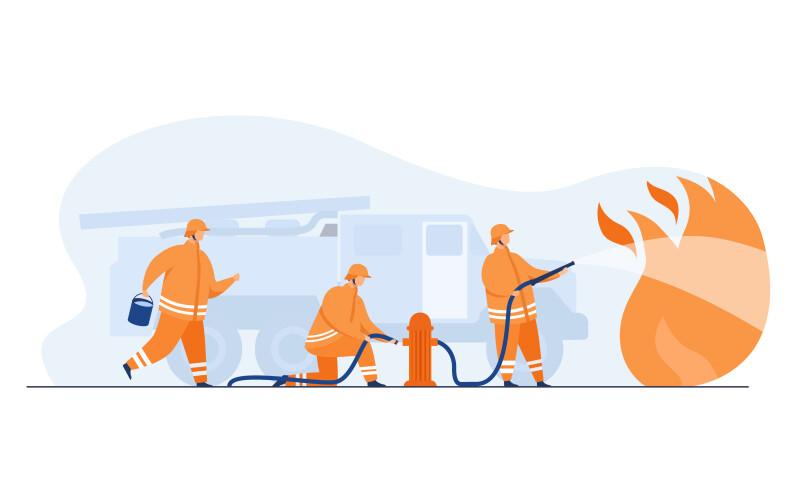 حجم کارهایی که آتشنشانان باید انجام دهند، بسیار زیاد بوده و شرایط استرسزایی بر شغل آنان حکمفرماست؛ ولی با برنامهی کاری که برای آنان تهیه شده است، آنان همیشه سطح آمادگی خود را در بالاترین حد حفظ میکنند و کمتر موردی از خطا در فرآیندهای کاری آنان دیده نمیشود.