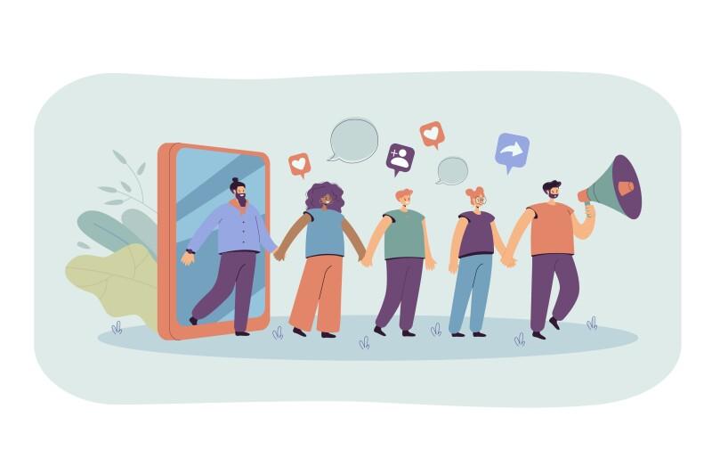 شما باید به طور مداوم در حال انتشار محتوا باشید تا مخاطبان شما و کارتان را در خاطر خود نگه دارند و نظر دهند، کف بزنند و محتوایتان را به اشتراک بگذارند.