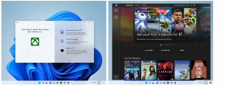 تجربه جدید Xbox در ویندوز 11. برنامه جدید Xbox در ویندوز 11.