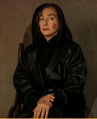 گریم هانیه توسلی در سریال زخم کاری
