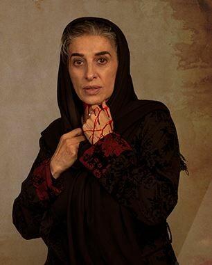 تصویر مائده طهماسبی در سریال زخم کاری