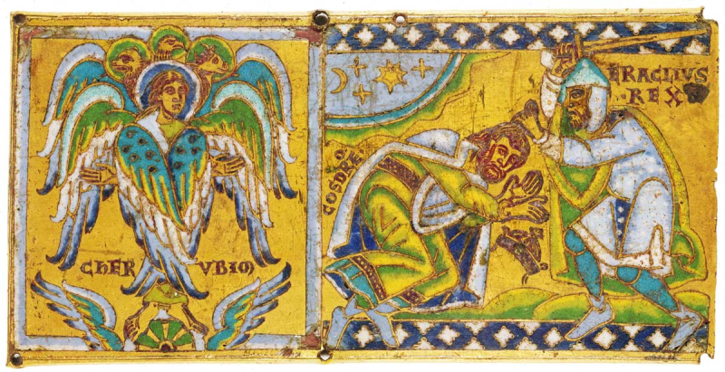 هراکلیوس خسرو دوم را می کشد.