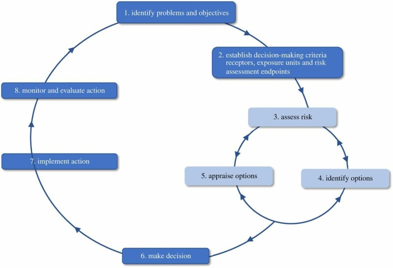 مدل هشت مرحله ای تصمیم گیری