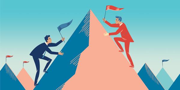 وجود رقابت سالم از اصول پیشرفت در هر کاری است.