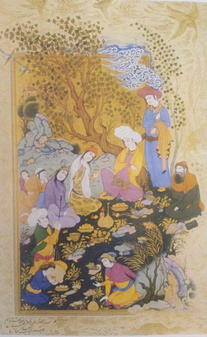 مکتب اصفهان، رضا عباسی