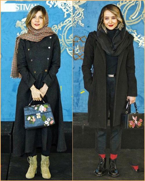 الناز حبیبی و سارا بهرامی