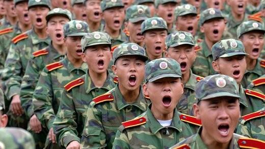 کادریان ارتش آزادیبخش خلق چین، بزرگترین ارتش حا حاضر جهان